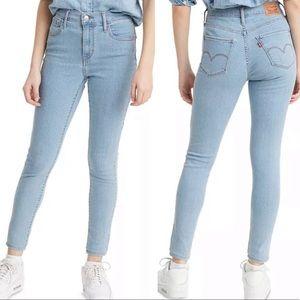 Levi's 720 High Rise Super Skinny Jeans Blue 26